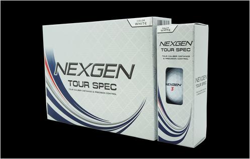 """""""NEXGEN TOUR-SPEC"""" Ball"""